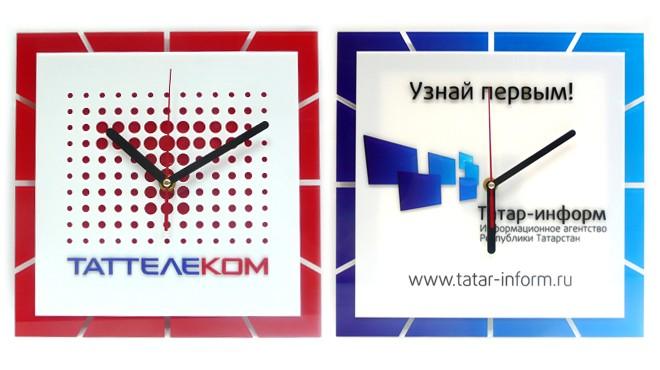 Часы с логотипом для компании ТатТелеком